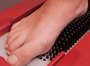 The Foot specialists of Greater Cincinnati fit for diabetic shoes.